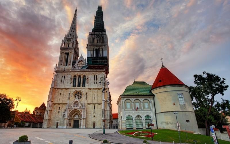 Αποτέλεσμα εικόνας για cathedral of assumption zagreb