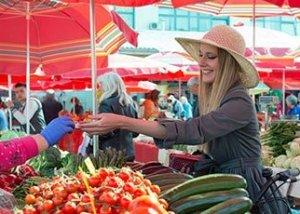 Zagreb Dolac Market