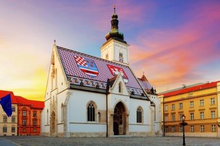 Zagreb Saint Marks church