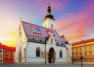 Zagreb Saint Mark's Church