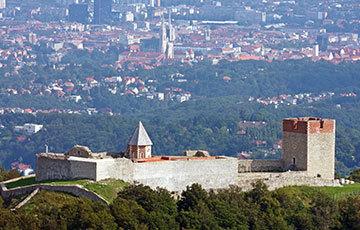 Zagreb Medvedgrad Castle Overlooking Zagreb