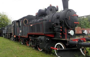 Croatian Railway Museum Locomotive