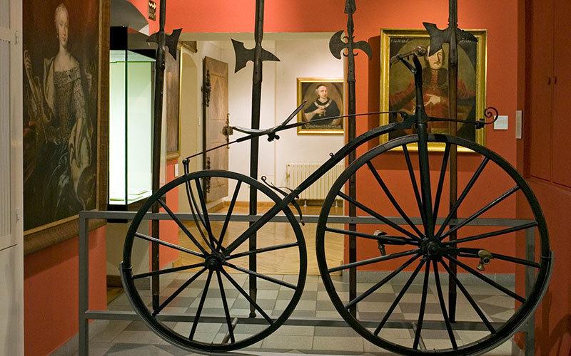 Zagreb City Museum Boneshaker Bicycle