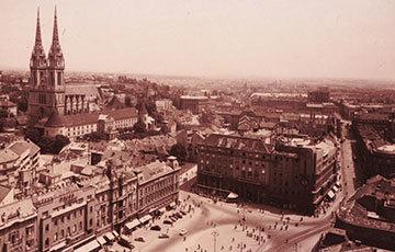 State Archives Zagreb Old Photo of Zagreb