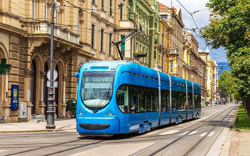 Zagreb Public Transport Tram