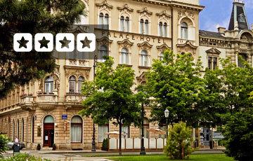 Palace Hotel Zagreb Exterior