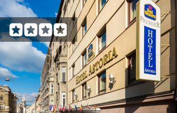 Best Western Premier Hotel Astoria Exterior