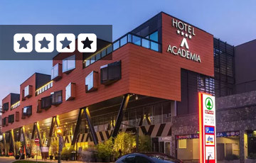 Hotel Academia Zagreb Exterior