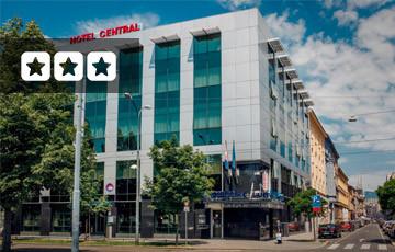 Hotel Central Zagreb Exterior