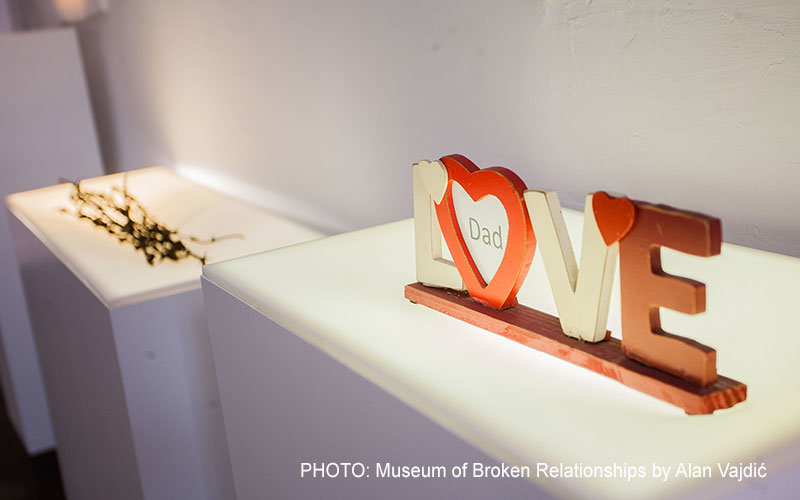Museum of Broken Relationships by Alan Vajdić