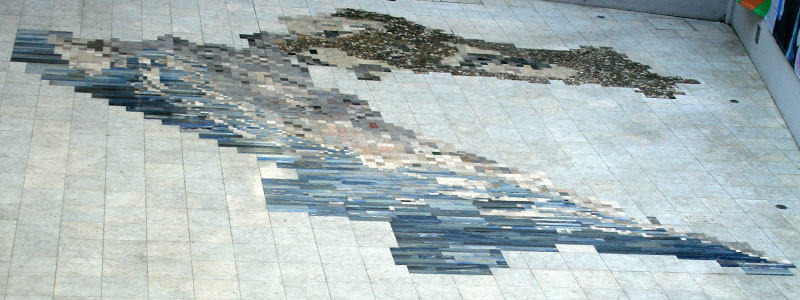Croatian Natural History Museum, the Rock Map of Croatia