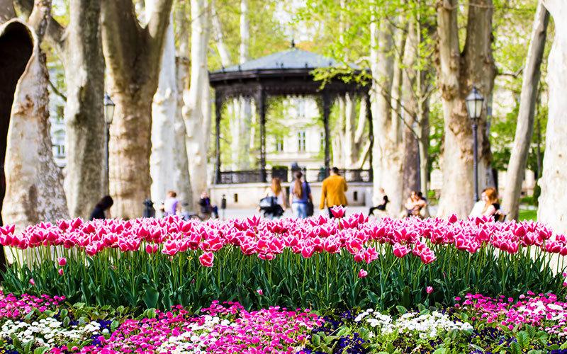 Zrinjevac Park Romance Relaxation Visit Zagreb