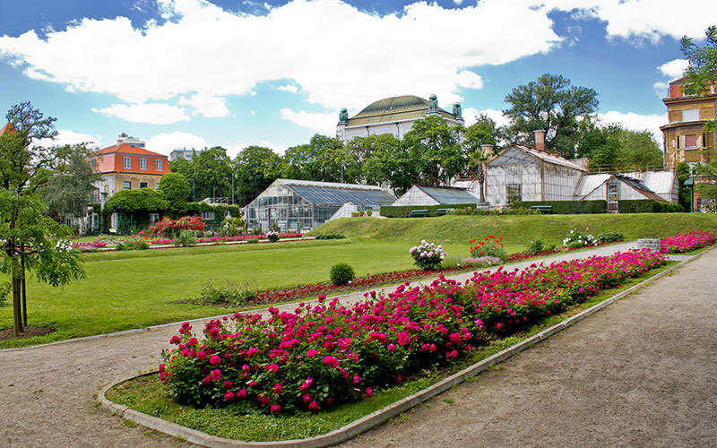 Zagreb botanical gardens [an oasis in heart of zagreb] » visit zagreb