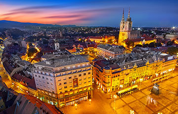 Zagreb 360, view of Upper Town