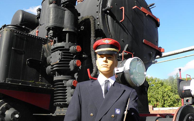 Croatian Railway Museum Locomotive and Conducter