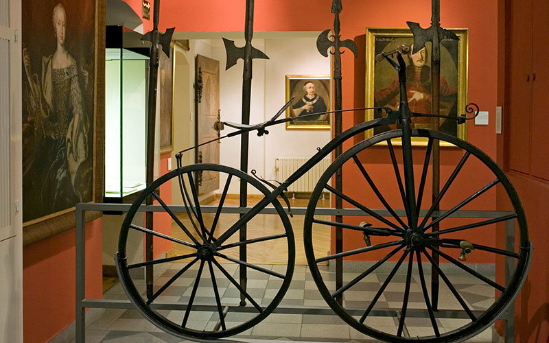 Zagreb City Museum Boneshaker Bicycle