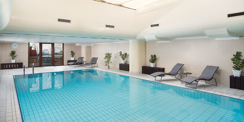 Sheraton Zagreb Hotel Indoor Pool