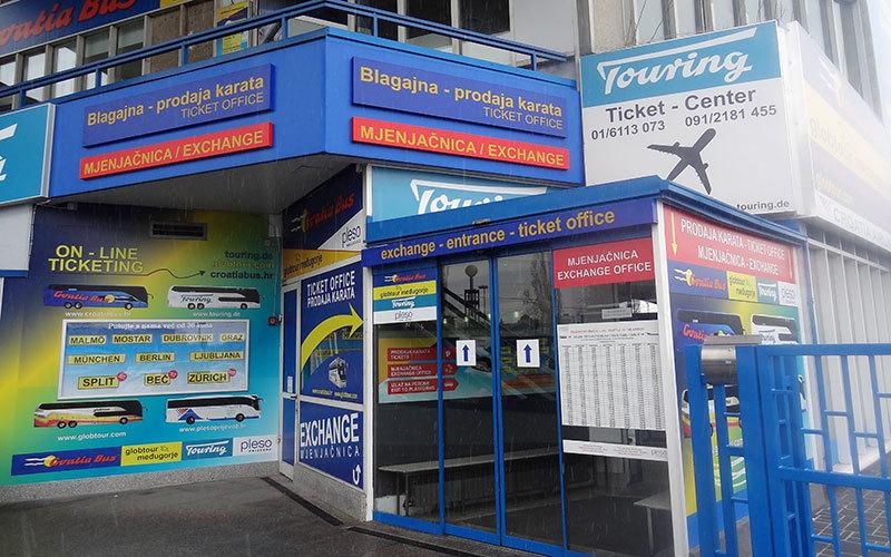 Zagreb Bus Station Visit Zagreb