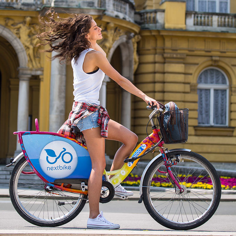 Bike Sharing NextBike Zagreb