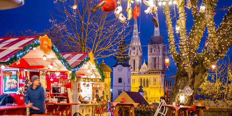 Advent Zagreb, Advent at Strossmayer Promenade | Photo: Julien Duval | Zagreb Tourist Board