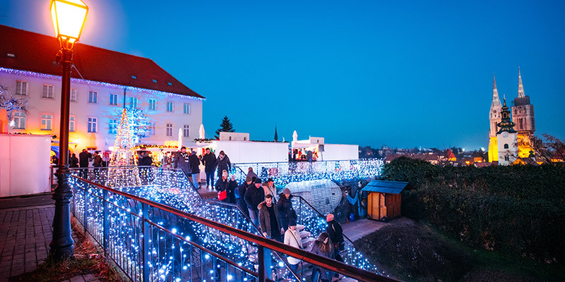 Advent Zagreb, Advent at Strossmayer Promenade | Photo: Marija Gasparovic | Zagreb Tourist Board